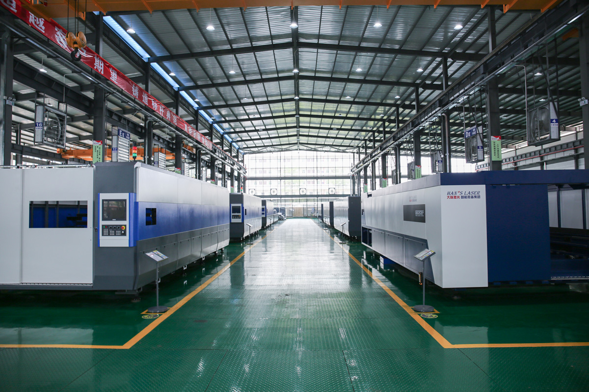 2D Laser cutting machine factory