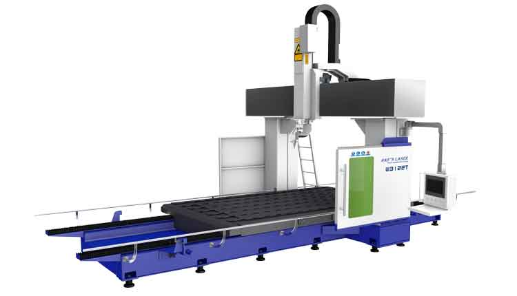 Mobile Worktable 3D-5 Axis Laser Cutting Machine