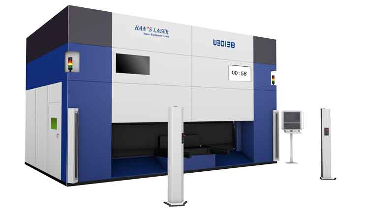 Hot forming part 3D-5 Axis Laser Cutting Machine